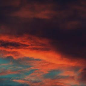 Tonight's sky by Cheryll Duckworth - Landscapes Sunsets & Sunrises (  )