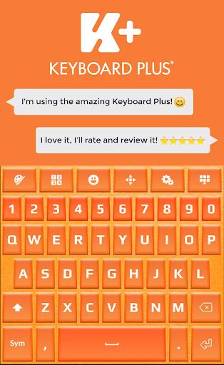 橙色HD键盘