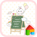 mozzi happy day dodol theme icon