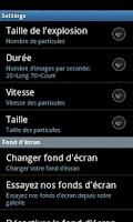 Screenshot of Particle LiveWallpaper Lite