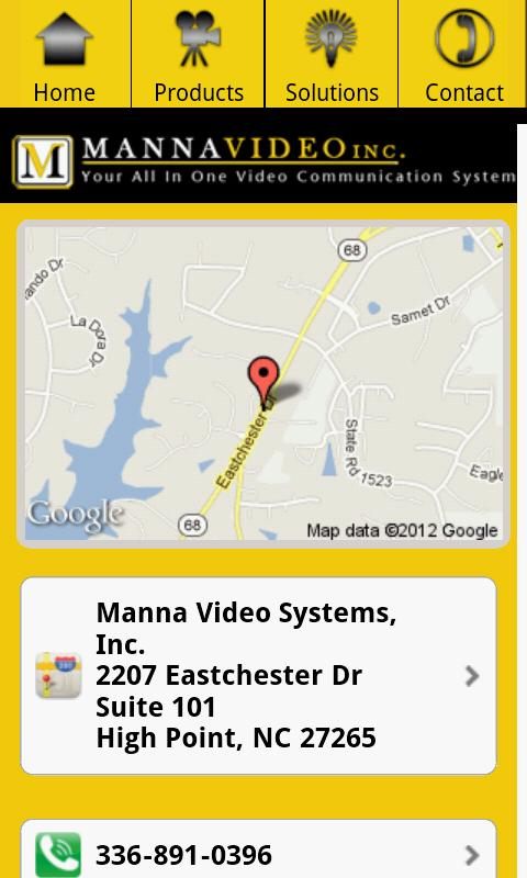 Manna Video System - screenshot