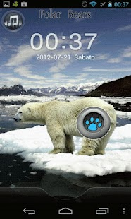 Polar Bears GO Locker Theme - screenshot thumbnail
