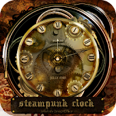 Steampunk Clock Widget