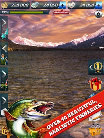 Screenshot 2 Let's Fish: Angelspiele