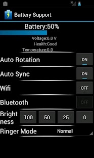 Battery Support- screenshot thumbnail