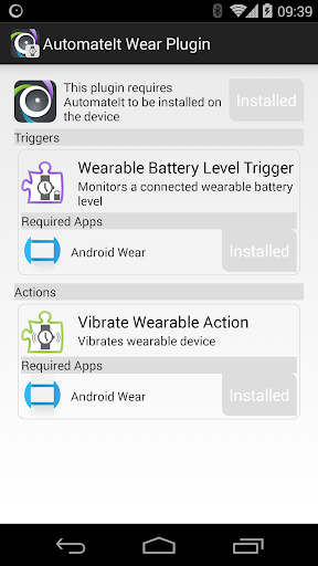 AutomateIt Wear Plugin