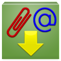 Download email attachment icon