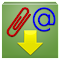 Download email attachment