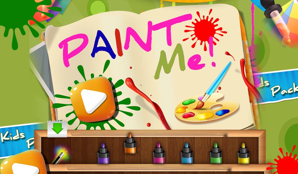 paint me kids painting game screenshot