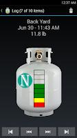 Screenshot of BBQ TankMeter - Grill Gauge