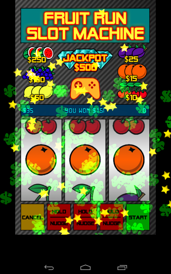 free fruit machine games with nudges