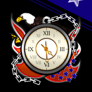 Eagle clockWidget