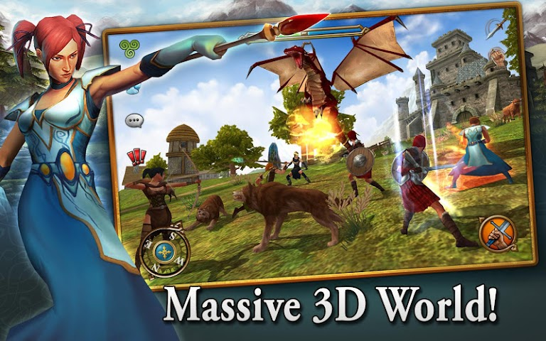 android 3D MMO Celtic Heroes Screenshot 6