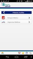 Screenshot of Guía Salud