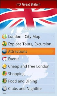mX Great Britain: Top UK Guide - screenshot thumbnail