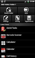 Screenshot of SiMi Folder Pro (Donate)