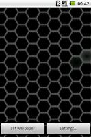 Screenshot of Hex Pattern Live Wallpaper