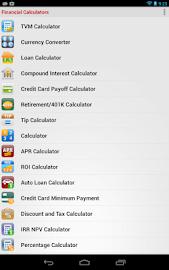 Financial Calculators Screenshot 33