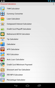 Financial Calculators Screenshot 33