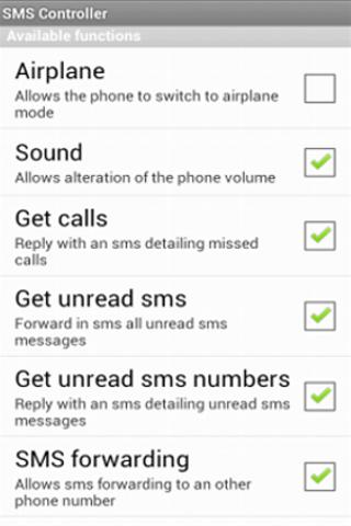 SMS Controller Lite