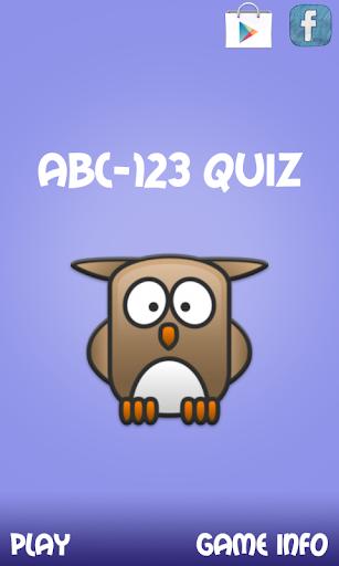 ABC-123 Quiz Kids Quiz