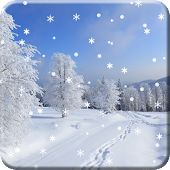 Winter Snow Live Wallpaper HD APK for Bluestacks