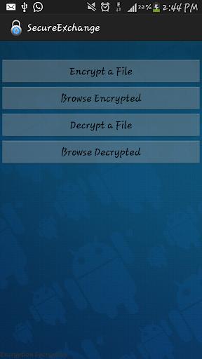 Secure Exchange