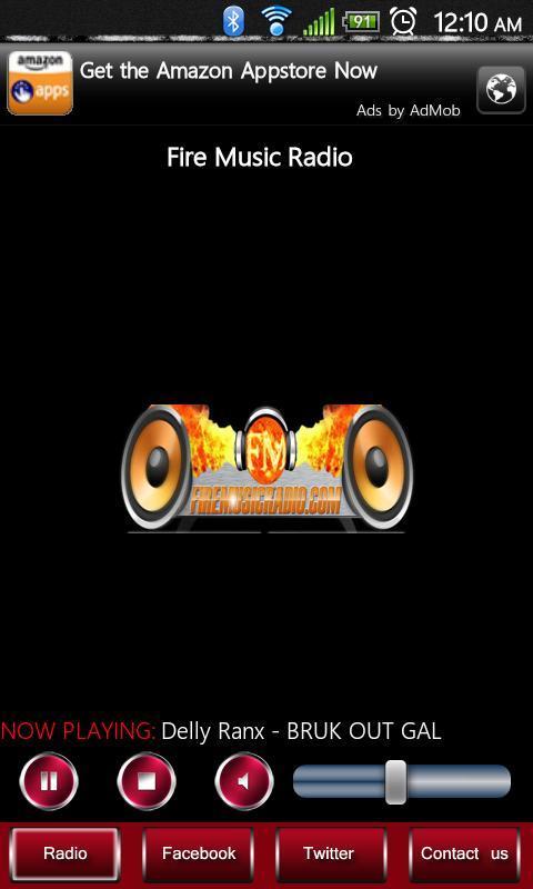 Fire Music Radio - screenshot