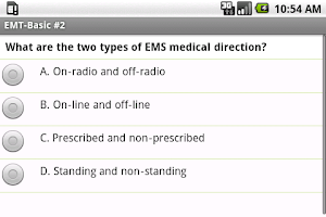 Screenshot of NREMT EMT Exam Prep Pro