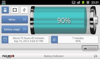Screenshot of Battery Indicator
