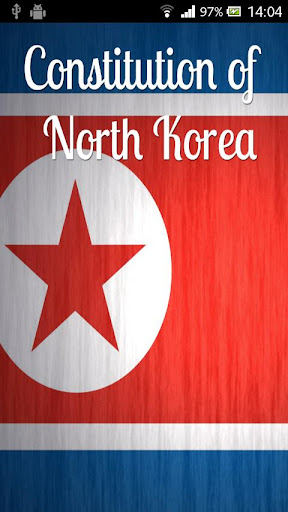 Constitution of North Korea
