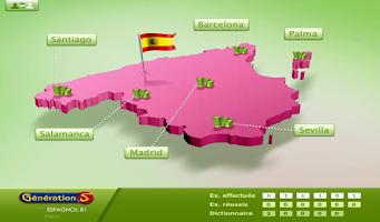 Screenshot of Espagnol - Niveau B1 du CECRL