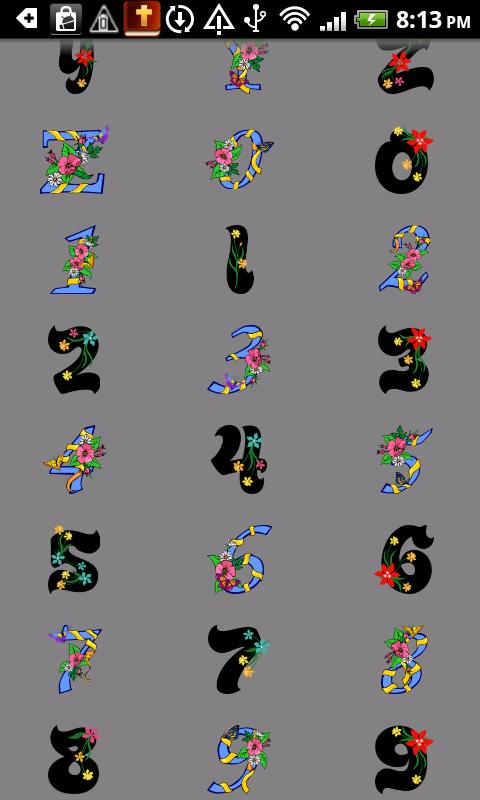 Alphabet stickers Doodle Text!- screenshot