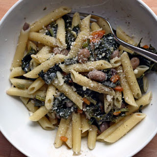 Pasta with Greens and Beans.