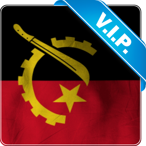 安哥拉國旗 個人化 LOGO-玩APPs