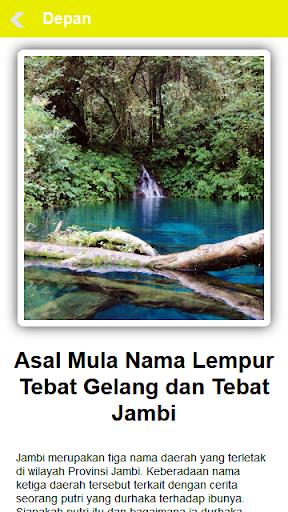 【免費書籍App】Cerita Rakyat Daerah Jambi-APP點子