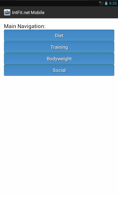 IntFit - Fitness Community- screenshot