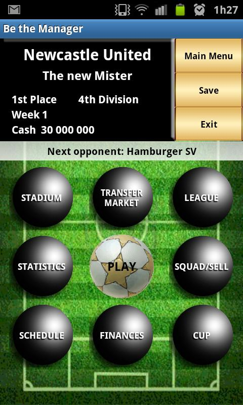 Be the Manager 2013 (Football) - screenshot