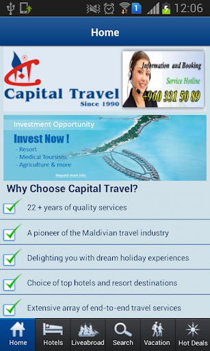 Capital Travel-Maldives