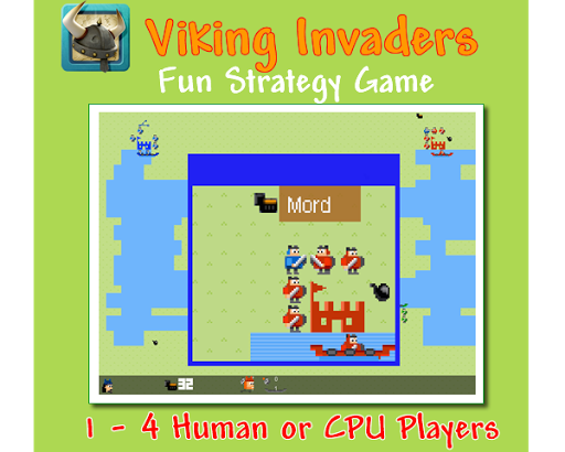 Viking Invaders 4 Players