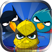 Super hero Birds - kids Games
