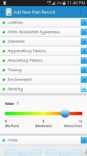 【免費醫療App】Manage My Pain Lite-APP點子