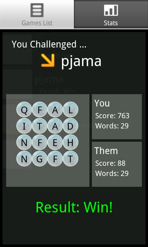 WordTwist Pro - screenshot