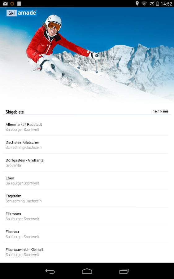 Ski amadé Guide- screenshot