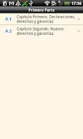 Screenshot of Argentina Constitution