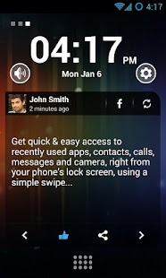 Swipe Lock Screen Launcher - screenshot thumbnail