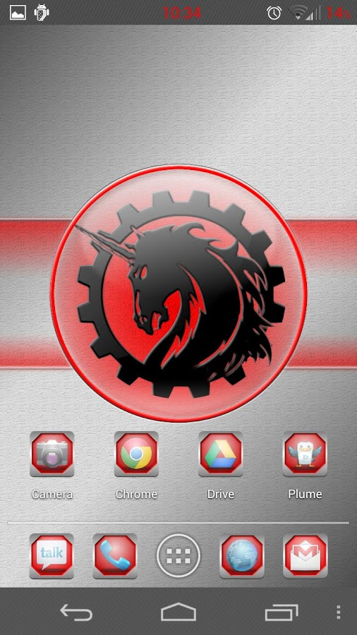 Red Framed Icons - screenshot
