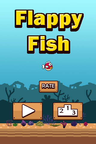 Flappy Fish - screenshot