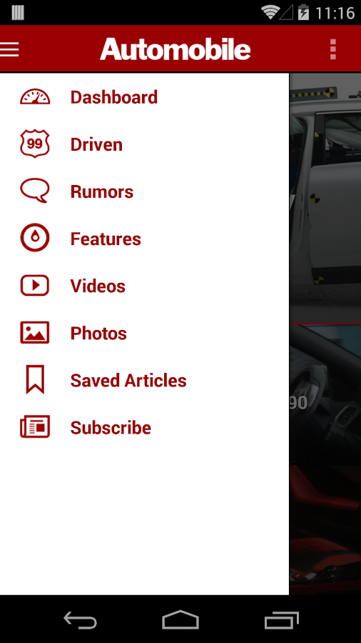 Automobile Magazine News - screenshot