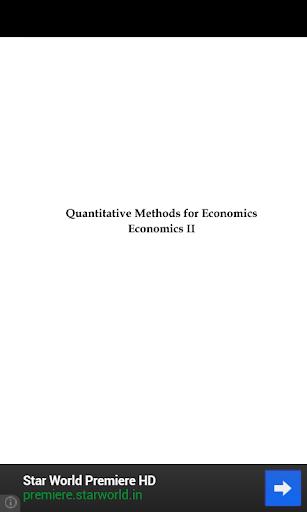 免費書籍App|Quantitative Method|阿達玩APP
